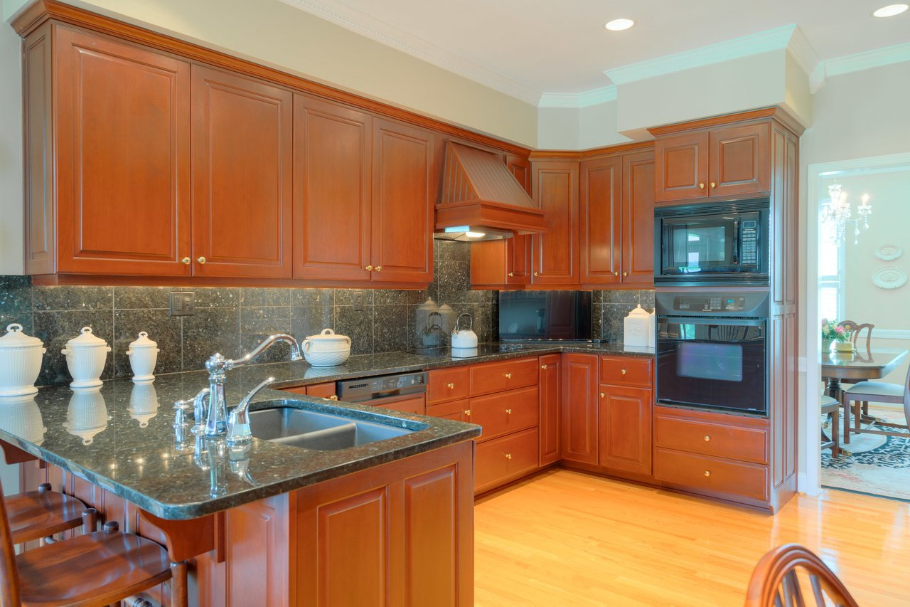 The kitchen at 2717 Eagle Drive.